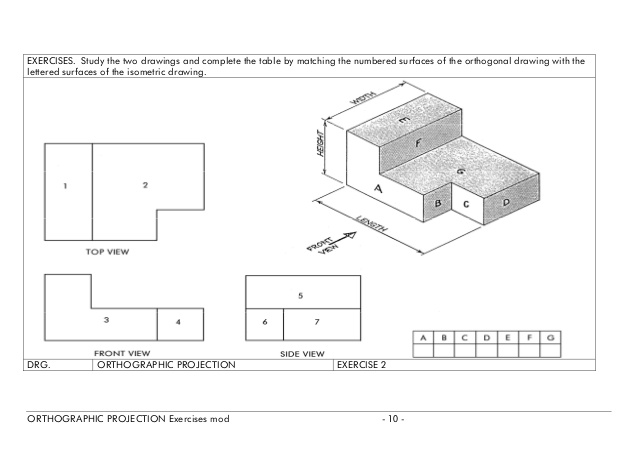 how to make an isometric drawing lesson