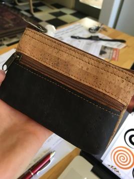 cork wallet!